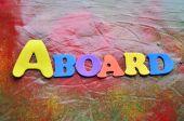 An bord — Stockfoto