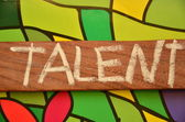 Talent — Stock Photo