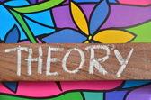Theory — Stock Photo