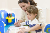 Homeschooling — Stock Photo