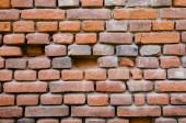 Velha parede de tijolos — Fotografia Stock