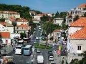 Dubrovnik Street. Brsalje, — Stock Photo