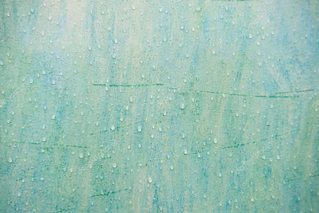 녹색 페인트 벽에 물방울 — 스톡 사진 © CoffeeMate #103262378