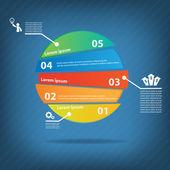 Colorful vector design — Stock Vector