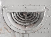 Old ventilation grille — Stock Photo