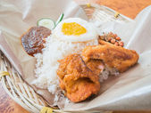 Nasi lemak — Stock Photo