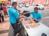 Local snack foods in Melaka — Stock Photo