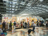 Duty free shop at Suvanaphumi Airport — Stock Photo