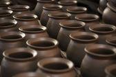 粘土の鍋 — ストック写真