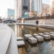 Постер, плакат: Cheonggyecheon stream