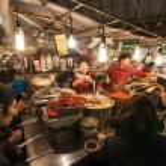 Gwangjang Traditional Market. — Stock Photo #68738559