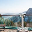 Observation point with telescope — Stock Photo #70807133