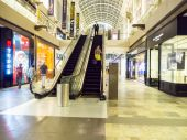 Marina Bay Sands Shopping mall. — Stock Photo