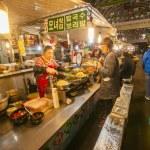 Gwangjang Market — Stock Photo #72464101