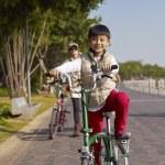 Boy riding bike — Stock Photo #61376617