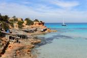 Cala Saona, Formentera, Spain — Stock Photo