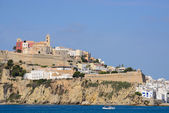 Ibiza, Dalt vila — Stock Photo