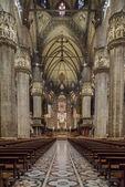 Duomo di Milano, Cattedrale di Milano, Italia — Foto Stock