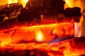 Texture fire — Stock Photo