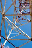Texture energy pillars — Stock Photo