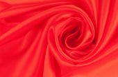 赤い布。組織、繊維、布、ファブリック、テクスチャ — ストック写真