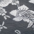 Lace on black and white fabric — Stock Photo #67955753