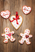 Cookies Valentine's Day — Stock Photo