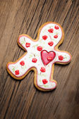 Cookies Valentine's Day — Stock Photo