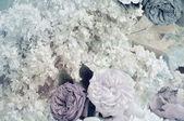 Velvet fabric, silk, jacquard. texture — Stock Photo