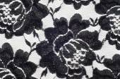 Texture lace fabric. lace on white background studio — Stock Photo