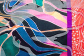 Fabric silk texture. abstract painting — Stock Photo
