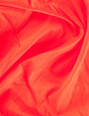 The texture of the silk fabric, red — ストック写真