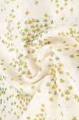 Wool fabric texture. soft beige, with a painted pattern of small — Stock Photo