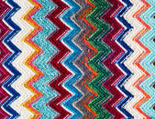 Texture de laine tissu Missoni — Photo