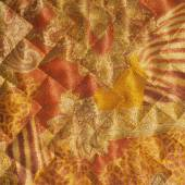 Fabric texture silk black. abstraction. The texture of the fabri — Stock Photo