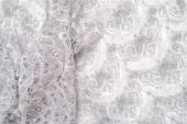 Lace texture on fabric — Stock Photo