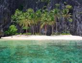 Landscape of El Nido. Palawan island. Philippines. — Stock Photo
