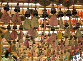 Amulets in Taoist temples. Zhangjiajie. China. — Stock Photo