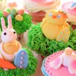 Easter bunny cupcakes — Stock Photo #67272025