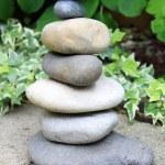 Stack of pebble rocks — Stock Photo #77035461