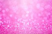 Pink Baby Girl Birthday Background — Stock Photo