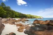 Plage aux îles seychelles — Photo