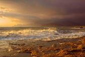 Storm at sea. — Stock Photo
