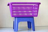 Clothes basket — Stock Photo