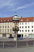 Old Market Magdeburg — Stock Photo