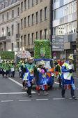 Carnival procession — Stock Photo