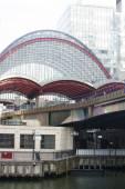Metro Station Canary Wharf — Stock Photo