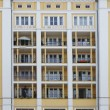 Residential building with balconies — Stock Photo #65117331