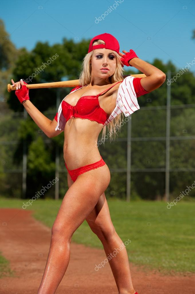 Baseball girls Naked hot
