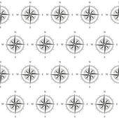 Compass seamless pattern — Stock Vector